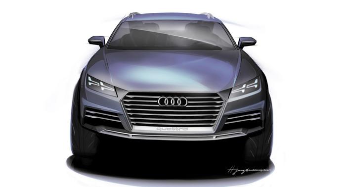 Audi Q1. առաջին լուսանկարները