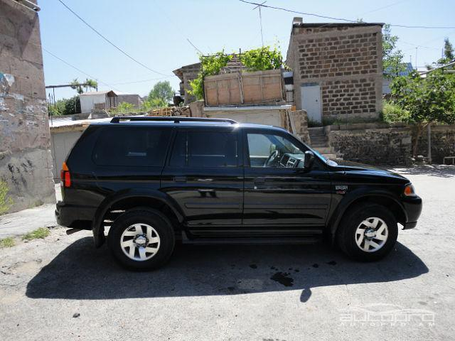 mitsubishi montero sport 2002 for sale in armenia 9000
