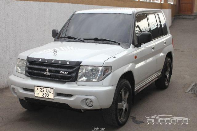 mitsubishi pajero pinin iq 2001 for sale in armenia. Black Bedroom Furniture Sets. Home Design Ideas