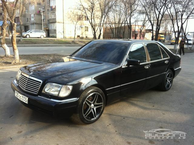 Mercedes benz s 420 1997 15 000 for Mercedes benz 15000