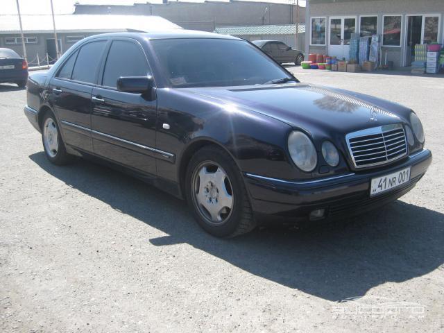 Mercedes benz e 320 1996 6 500 for Mercedes benz 6500